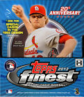 2013 Topps Finest Baseball Factory Sealed Hobby Box -2 Autographs Per Box