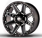 4 NEW RDR RD04 USA 17x9 6x135 6x1397 12mm Black Machined Wheels Rims