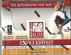 2011 Donruss Elite Extra Edition Baseball Hobby Box -6 Hits Per Box