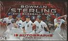 2014 Bowman Sterling Baseball Hobby Box -3 Hits Per Pack