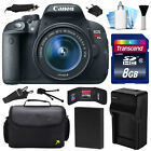 Canon EOS Rebel T5i 700D DSLR numrique appareil photo w 18 55mm Objectif 8GB
