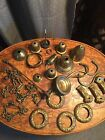 antique brass chandelier parts chains socket cup canopy bobeche repair