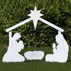 Outdoor Nativity Store Holy Family Outdoor Nativity Set Large White