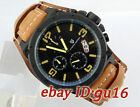 Pagani design 50mm pvd steel case yellow mark chronograph mens quartz watch 1626