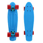 Complete Penny 22 Skateboard Cruiser Board with 2 Extra FLashing Wheels Blue