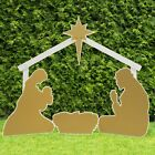 Outdoor Nativity Store Holy Family Outdoor Nativity Set Standard Gold