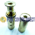 MEYCO POOL COVER POP UP ANCHOR BRASS POP UP FOR CONCRETE Quantity discounts