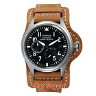 Parnis 47mm steel Power Reserve Seagull 2530 Automatic Men's Date Watch 1747
