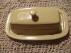 Fiestaware Fiesta Ware Butter Dish with Lid Excellent Ivory Light Yellow