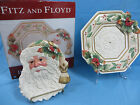 Fitz and Floyd Winter Wonderland Plate and Server Set