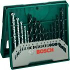 Set of 15 bits for 5 metal, 5 wood, 5 wall percussion BOSCH 2607019675