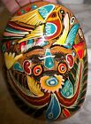 Clay Art Wall Hanging Mask Pre-Colombian Influence No MPN Multi-Color