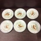 Fitz and Floyd La Mer (6) Salad Bread Dessert Plates 7.5