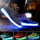 Hot Unisex LED Light Lace Up Luminous Shoes Sportswear Sneaker Casual Shoes New