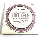 DAddario Ukulele Strings Black Nylon EJ53C Uke Pro Arte Rectified