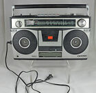 Vintage Sanyo AM/FM Boombox Model M9970 - PLEASE READ Needs Repaired / For Parts