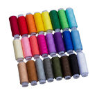New 24 Color 100 Pure Cotton Finest Quality Sewing All Purpose Thread Reel