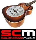 KALA TENOR RESONATOR UKULELE MAHOGANY BODY  CHROME CONE UKE BRAND NEW