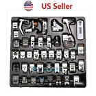 42 PCS Domestic Sewing Machine Foot Presser Feet Set For Brother Singer Janome