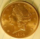 Gold American Double Eagle  Type III 1904-P Ungraded Cleaned?