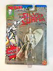 SILVER SURFER ACTION FIGURE MARVEL SUPER HEROES NEAR MOC TOY BIZ 1992