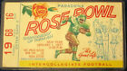 1977 Rose Bowl Ticket USC Vs Michigan seat 16