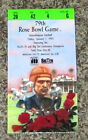 1993 Rosebowl Ticket Washington Vs Michigan Football seat 4