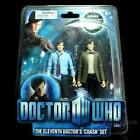 5 Doctor Who Figure Eleventh 11th Doctor Crash Set Matt Smith Brown Jacket 156