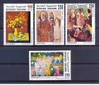 2002- Tunisia-Commemoration of Great Artist Painters Works- Compete set 4v.MNH**