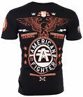 AMERICAN FIGHTER Mens T Shirt CREST OF TRUTH Biker Gym MMA UFC 40 NWT
