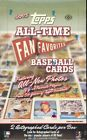 2005 Topps All-Time Fan Favorites Baseball Factory Sealed Hobby Box - 2 Autos