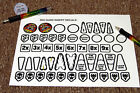 BIG GUNS Pinball Machine Insert Decals LICENSED