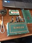Vintage Singer Attachment's, Manual, Buttonholer Templates, etc. 66-16 and more