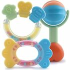 Eco Friendly Baby Teether Toys and Rattle Gift Set