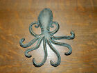Antiqued Octopus Cast Iron 7