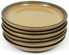 Set of 7 Denby Langley Bread and Butter Plates in Romany Brown Pattern