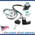 Ignition Switch Gas Cap Helmet Seat Lock Key Set For Honda CMX250 Rebel CA125 US