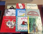 Lot of 9 FIAR VOL 1 books FIVE IN A ROW Cranberry Thanksgiving PING Snowy