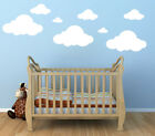 23 WHITE CLOUDS WALL DECALS Baby Nursery Custom Stickers Kids Room Decorations