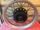 1979 1980 Suzuki Rm 400 Rear Wheel Rm400 250 TM Full Floater