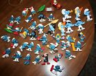 LOT OF 64  VINTAGE SMURFS FIGURINES...NICE MIXED LOT