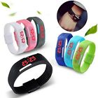 Sale Cool Women And Men Watches Sport Waterproof Wristwatch Digital Touch LED