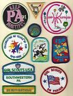 Girl Scouts Lot of Patches from Southwestern PA