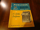 Wurlitzer Jukebox 2800 - 2310 manual