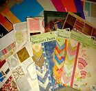 PAPER STACK 2B Scrapbook YOUR CHOICE Mambi DCWV Colorbok KCo Bazzill GCD