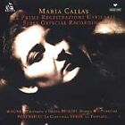First Official Recordings by Callas, Maria