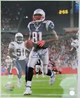 Randy Moss New England Patriots Autographed Signed 16x20 Photo JSA Q93978