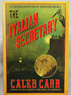 The Italian Secretary Caleb Carr 2005 Hardcover Signed First Edition