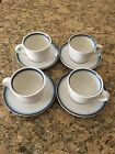 Pfaltzgraff Sky Cup and Saucer Sets - 4 Sets of 2 Pieces