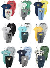 Carters Baby Boy Bodysuit Pant 3pc Set Clothes Newborn 3 6 9 12 18 24 Month NEW